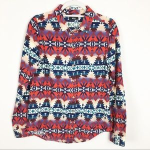 Urban Outfitters BDG Southwestern Button Down Top